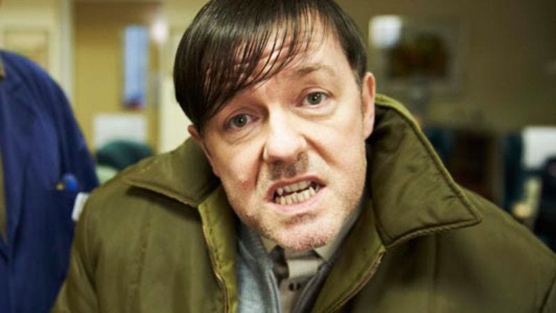 Illustration for article titled Ricky Gervais' new show is not mocking the mentally disabled, Ricky Gervais says