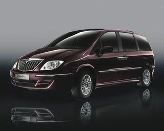 Illustration for article titled New Lancia Phedra Minivan Provides Family Italian Style