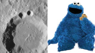 Illustration for article titled NASA spots Cookie Monster on Mercury