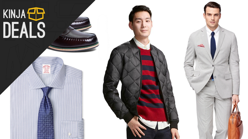 Illustration for article titled Today's Best Fashion Deals For Men: North Face, Brooks Brothers, Uniqlo