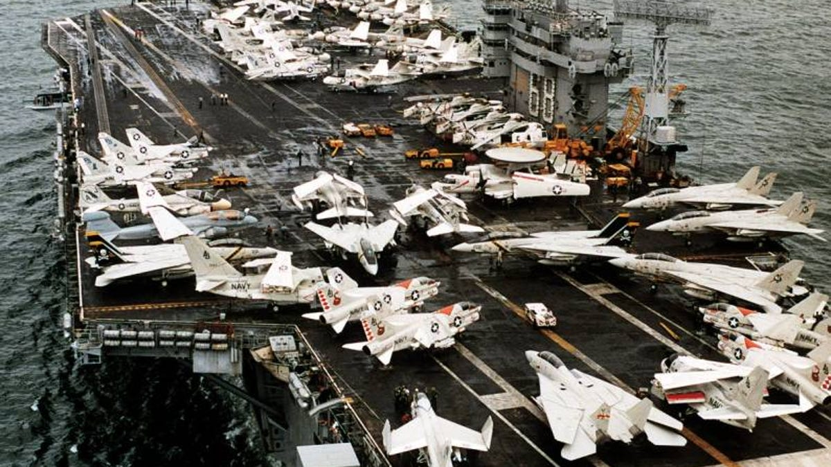 The Slow Death Of The Carrier Air Wing