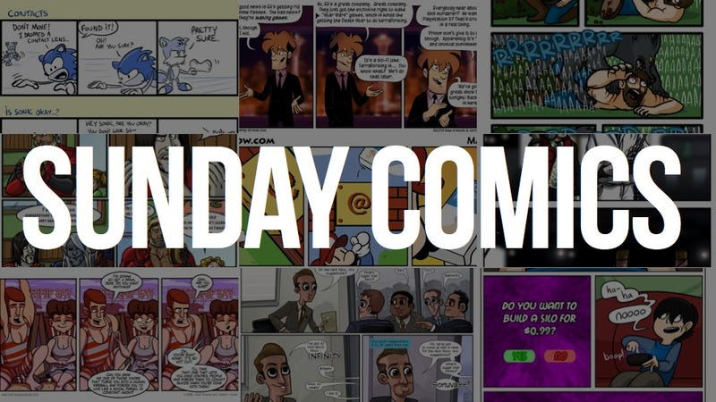 Illustration for article titled Sunday Comics: The Eyes Have It