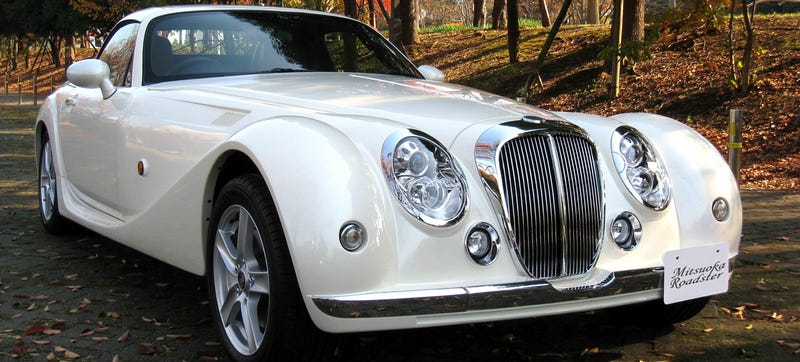 Illustration for article titled Put Some Class In Your Dumb Life With Mitsuoka's Insane Baroque Miata