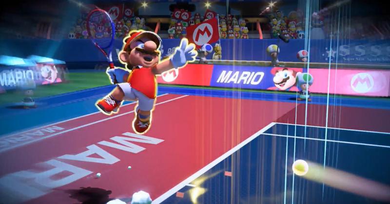 Illustration for article titled El nuevo Mario Tennis Aces llegará a la Nintendo Switch en junio
