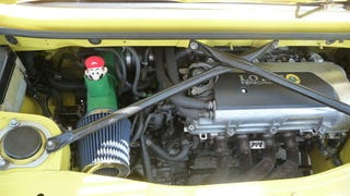 Illustration for article titled Tuner Fits His Toyota with Mario Intake