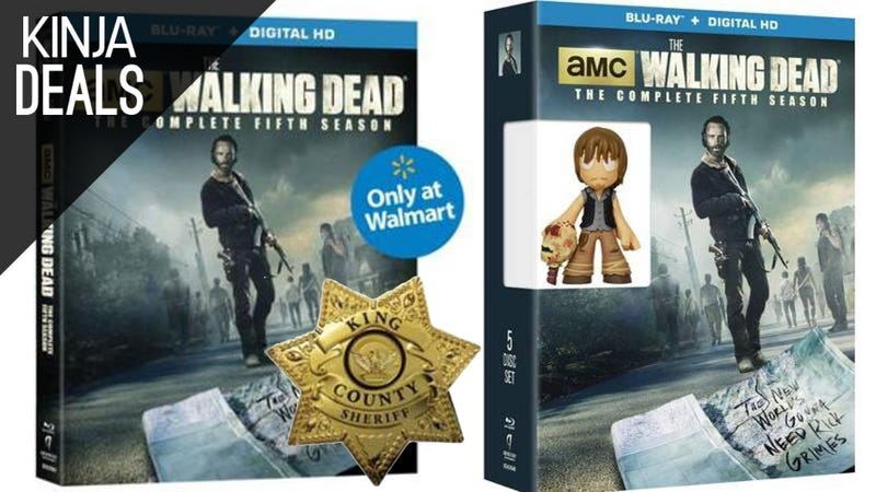 Illustration for article titled Today's Best Media Deals: Walking Dead Preorders, Star Wars Steelbooks