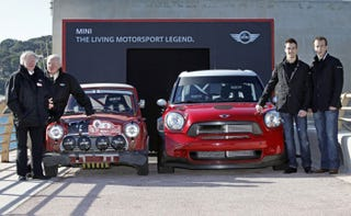 Illustration for article titled The new Mini WRC is a giant monster