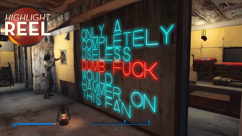 Fallout 4 Player Makes Perfect Sign