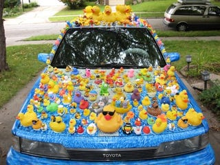 Illustration for article titled How Much Duckpower Does Your Car Make?