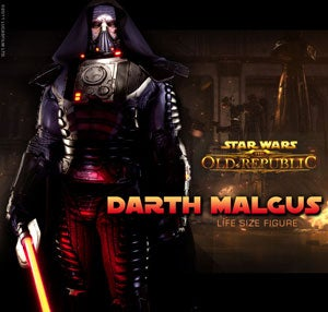 Illustration for article titled You Can Buy a Life-Sized Sith Lord From Old Republic