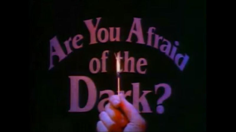 Illustration for article titled That time when Are You Afraid Of The Dark? had a ghastly case of writer's block