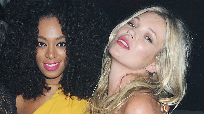 Illustration for article titled Kate Moss Is Solange Knowles' Role Model