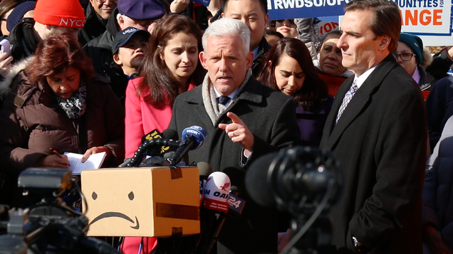 New York Politicians Suggest a Better Place Jeff Bezos Can Stick His New Headquarters