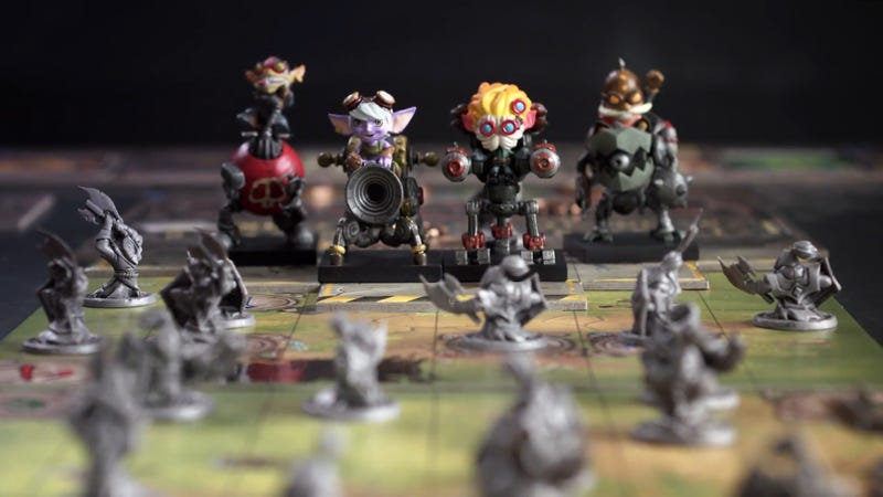 Illustration for article titled League Of Legends Gets A Board Game, And It's Sick With Yordles