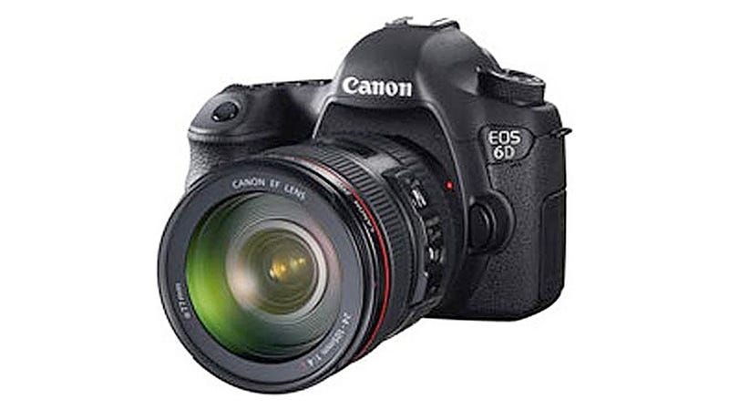 Illustration for article titled Could the Rumored 6D Become Canon's Cheapest Full Frame DSLR?