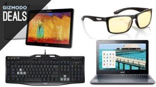 Illustration for article titled Deals: $150 Chromebook, Logitech Gear, Gunnars, Fandango Voucher