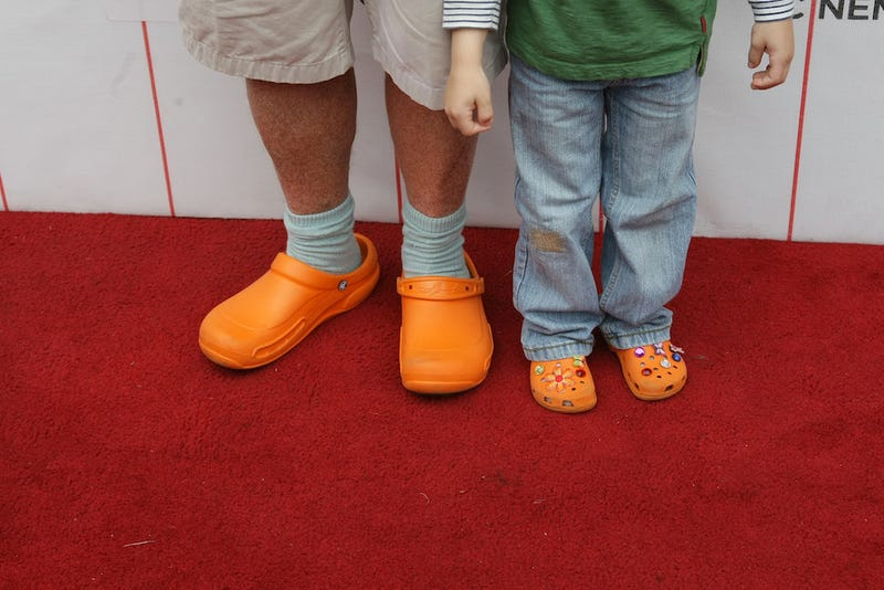Illustration for article titled Mario Batali Loves His Orange Crocs So Much He Just Ordered 200 Pairs