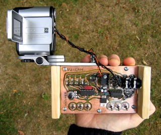 Illustration for article titled Circuit Bending a Camcorder Looks Just Like a 90s Music Video