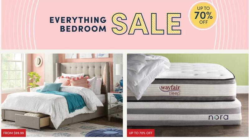 Everything Bedroom Sale | Wayfair