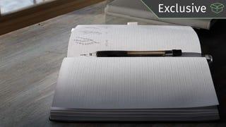 Cuaderno Ghost Paper | $20 | Amazon | Código promocional 121KINJA