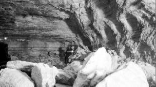 Illustration for article titled The vast, abandoned salt mines that lurk beneath Detroit