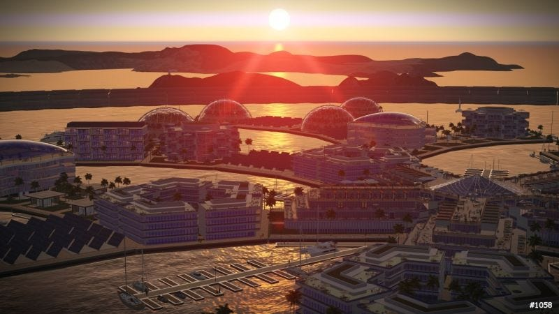 Image: Artisanopolis, by a team of three architects from Roark 3D