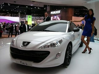 Illustration for article titled Peugeot RCZ: Live Photos