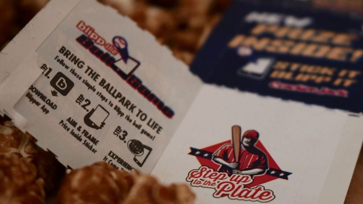 The Cracker Jack 'Prize' Is Now a QR Code