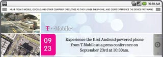 Illustration for article titled T-Mobile Confirms Android/HTC Dream Unveil for September 23