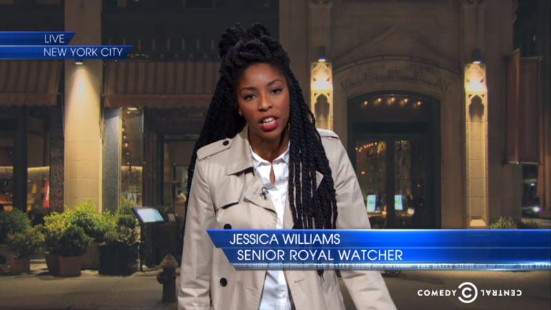 Illustration for article titled The Daily Show's Jessica Williams: The Royals Just Want a Black Friend
