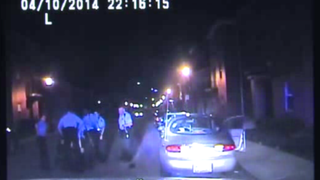 Cortez Bufford, 18, claims that police disabled the dash cam before kicking and using a Taser on him. Video from the dash cam shows Bufford lying on the ground as police surround him.Fox 2 screenshot