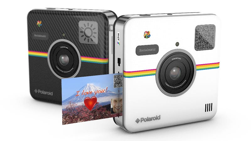 Illustration for article titled Polaroid's Socialmatic Camera Is All About Sharing Your Shots
