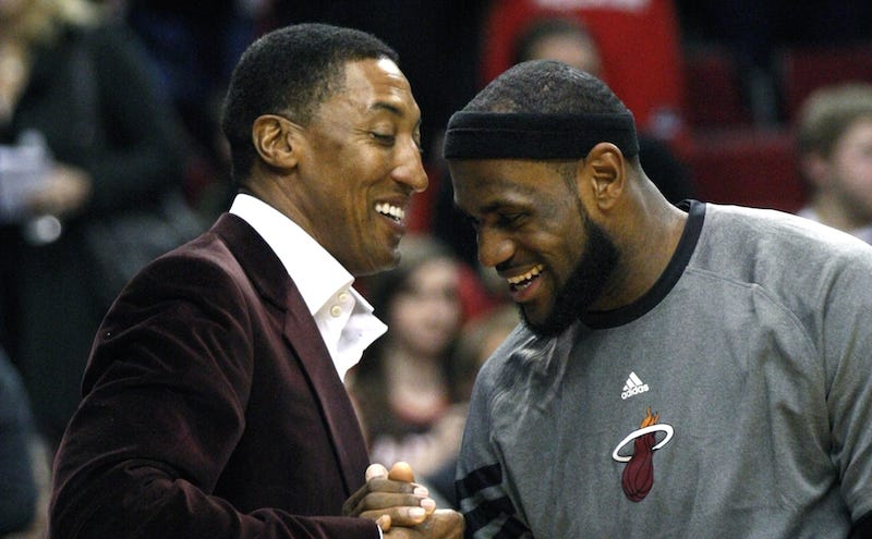 Illustration for article titled LeBronWatch: Scottie Pippen Can Neither Confirm Nor Deny That LeBron Is Definitely Going To The Lakers