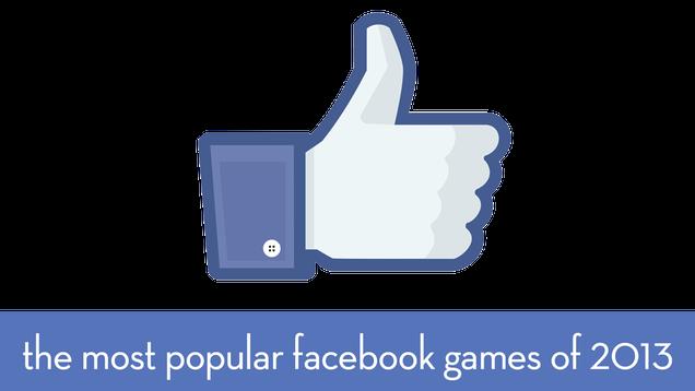 most popular facebook games september 2013