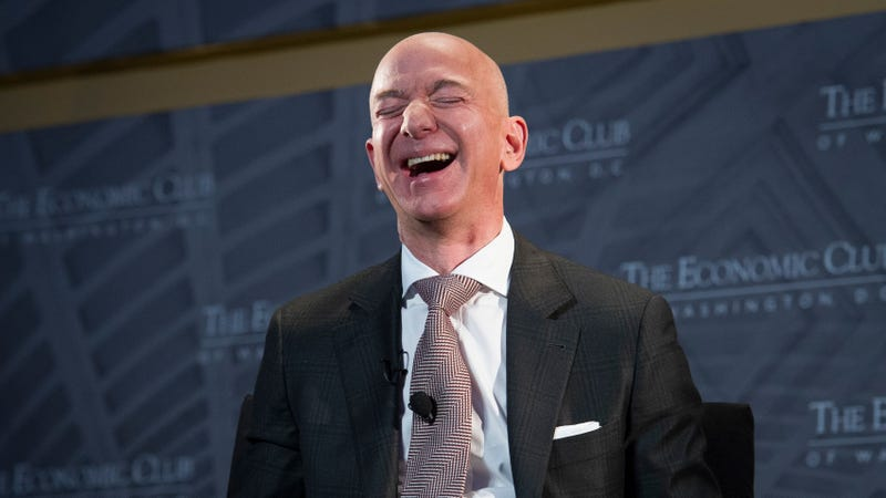 Illustration for article titled Jeff Bezos Was Married, Is Now Divorced