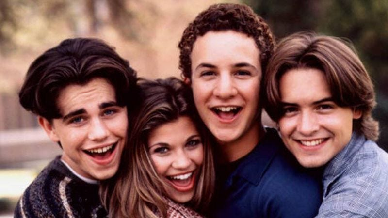 Illustration for article titled Boy Meets World sequel gets Cory and Topanga—but probably not Shawn