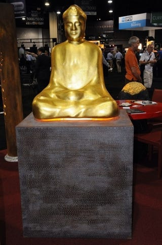 Illustration for article titled Buddha Went and Reincarnated Himself as a $13,250 Speaker