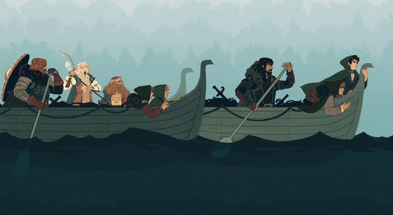 Illustration for article titled The Lord Of The Boats