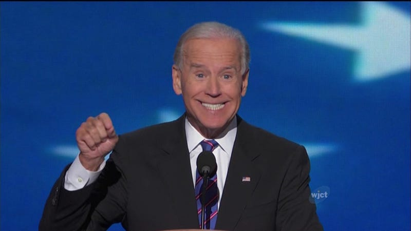 Illustration for article titled Joe Biden Was Ecstatic When He Learned We Finally Got A College Football Playoff