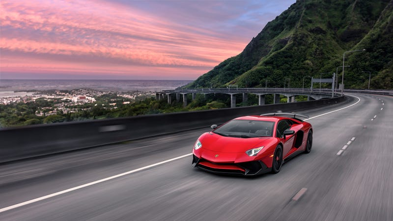 Illustration for article titled Your Ridiculously Awesome Lamborghini Aventador SV Wallpapers Are Here