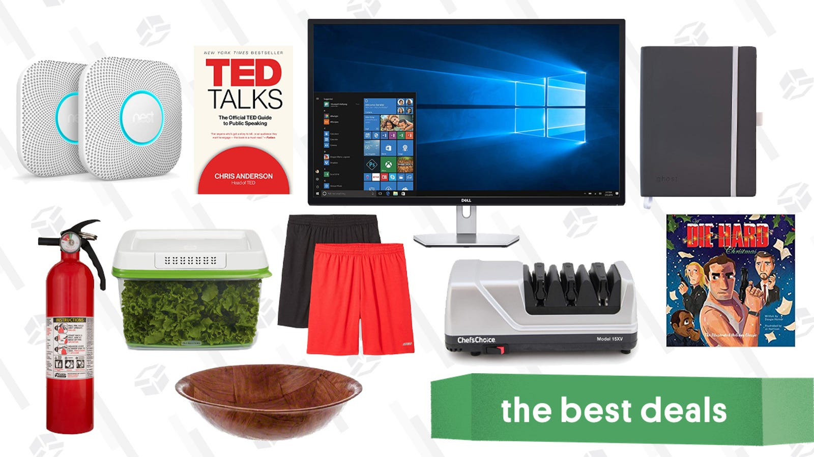 Thursday's Best Deals: Dell QHD Monitor, Home Depot Fire Safety, Athletic Shorts, and More