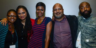 Moikgantsi Kgama, Ava DuVernay, Emayatzy Corinealdi, Paul Garnes, Bradford Young (Ray Tamarra/Getty Images Entertainment)
