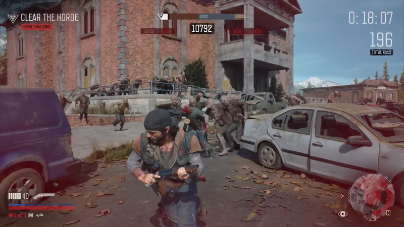 Illustration for article titled Days Gone Gets A Tough But Satisfying Horde Mode