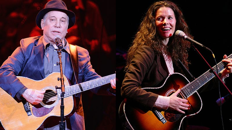 Illustration for article titled Paul Simon, Edie Brickell Arrested After Physical Altercation