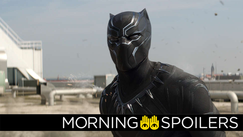 Illustration for article titled The First Black Panther Set Pictures Confirm the Return of Another Civil War Character
