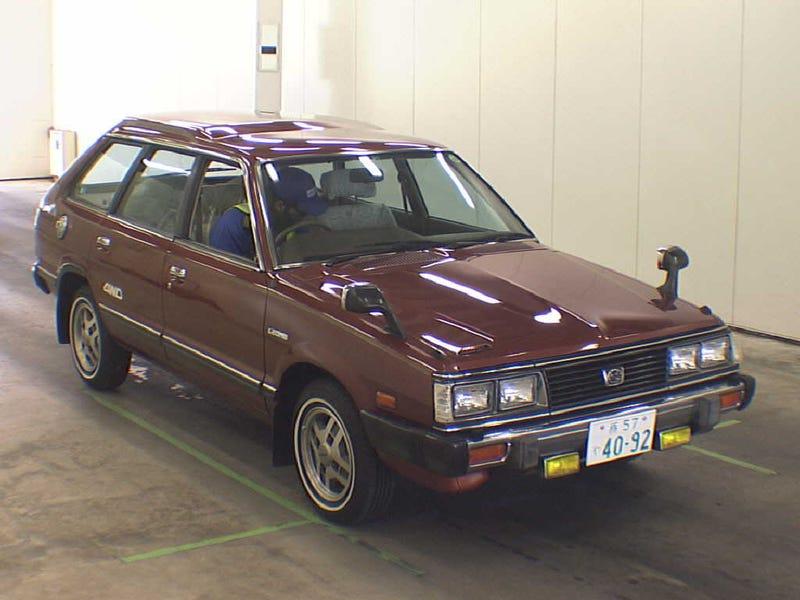 Illustration for article titled Subaru Leone Wagon Anyone?