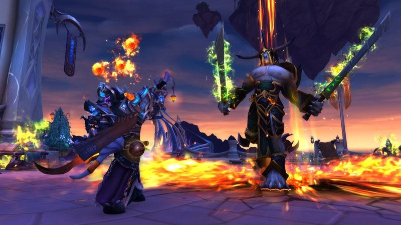Screenshot: World Of Warcraft: Legion/Blizzard Entertainment