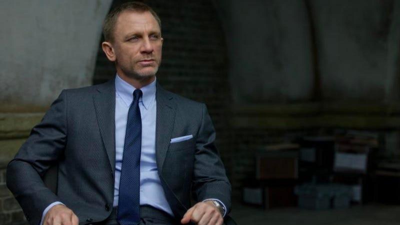 Daniel Craig in Skyfall. Image: Sony