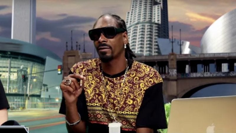 Snoop Dogg on the GGN Network web channel