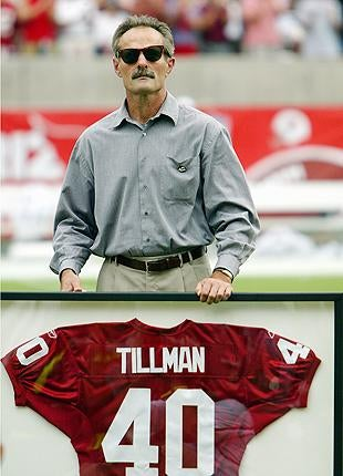 """Illustration for article titled Pat Tillman's Father To Brigadier General: """"Fuck You ... And Yours"""""""